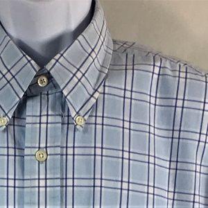 NAUTICA Button Down Casual Shirt Size XL